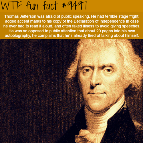 Thomas Jefferson - WTF Fun Fact