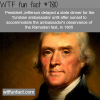 thomas jefferson wtf fun facts