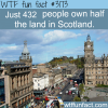 those people own half of the land in scotland