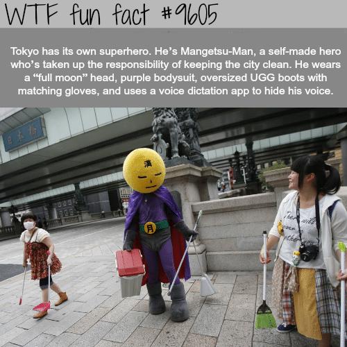 Tokyo's Superhero - WTF fun fact