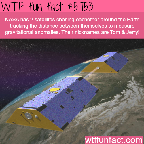 Tom & Jerry twin satellites - WTF fun facts