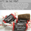 tootsie rolls facts wtf fun fact