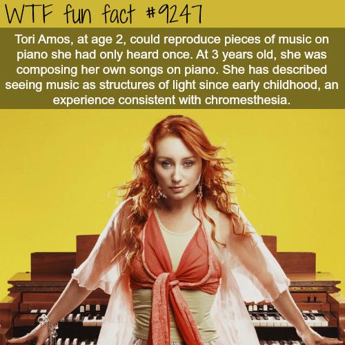 Tori Amos - WTF fun fact