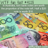 torn australian currency wtf fun facts