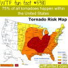 tornadoes map wtf fun facts