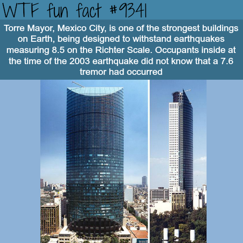 Torre Mayor - WTF fun facts