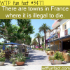 towns in france where it s illegal to die