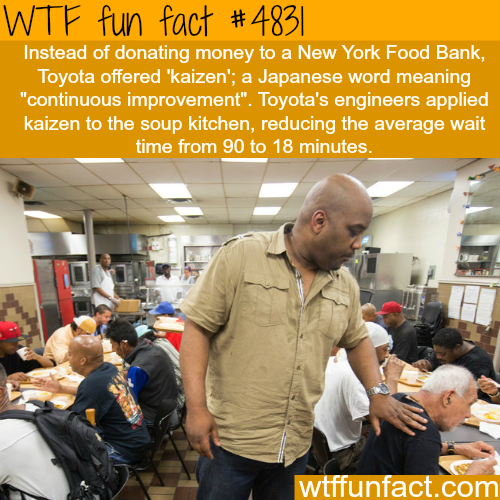 Toyota donates improvements to New York Food Bank - WTF fun facts