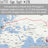 train from portugal to vietnam