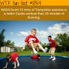 trampoline exercise wtf fun facts