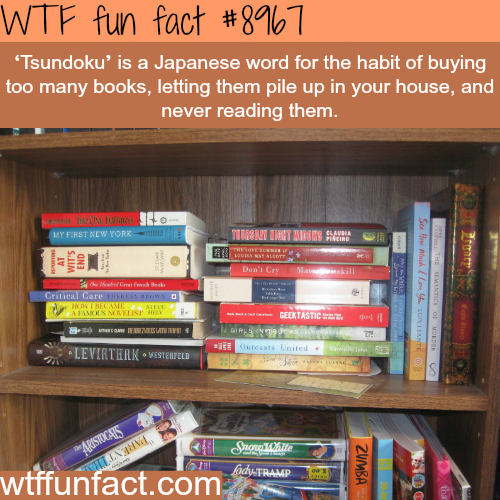 Tsundoku - WTF fun fact