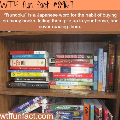 Tsundoku - WTF fun fact