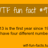 tume 2013 facts