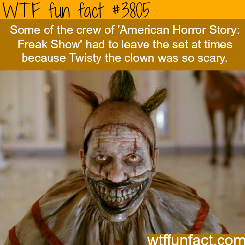 Twisty the Clown in American Horror Story - WTF fun facts