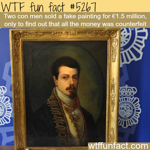 Two con men get the justice they deserve - WTF fun facts