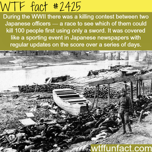 Two officers race to kill people - WTF fun facts