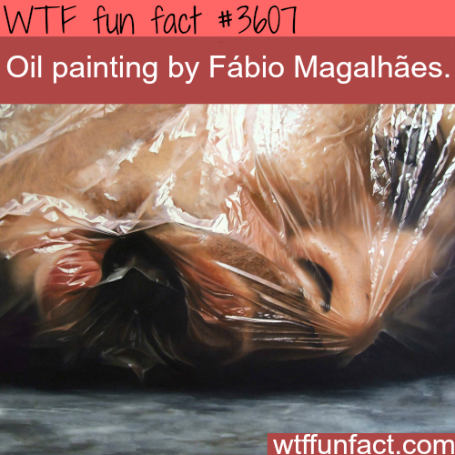 Ultra realistic creepy Oil Painting by Fábio Magalhães -  WTF fun facts
