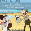 ultracrepidarian wtf fun facts