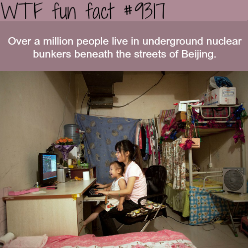 Underground Bunkers of Beijing - WTF fun facts