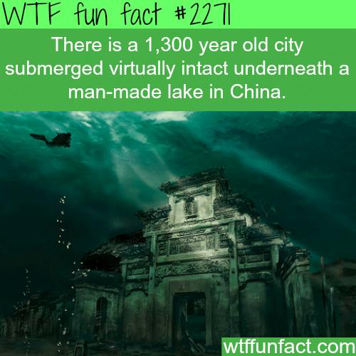 underwater city -WTF fun facts