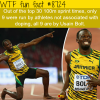 usain bolt wtf fun facts