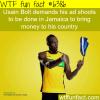 usain bolts ads wtf fun facts