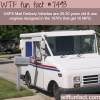 usps vehicles are 30 years old wtf fun facts