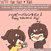 valentines day in japan wtf fun facts