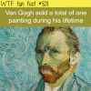 van gogh wtf fun fact