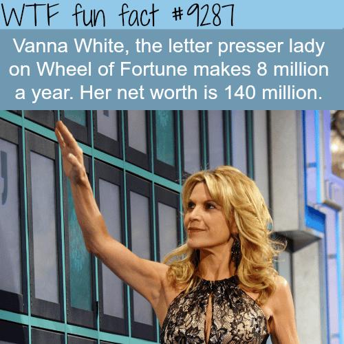 Vanna White - WTF fun facts