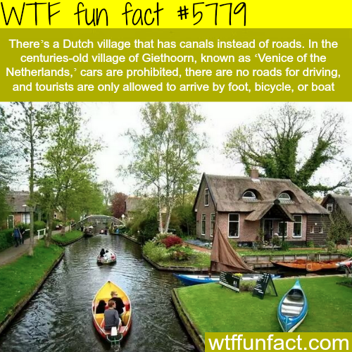 Venice of the Netherlands - WTF fun facts