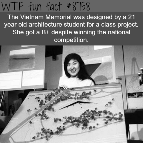 Vietnam Memorial - WTF fun facts
