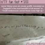 viking graffiti wtf fun fact