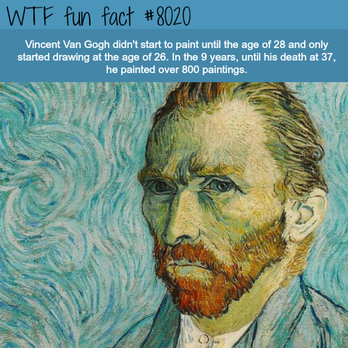 Vincent Van Gogh - WTF fun fact