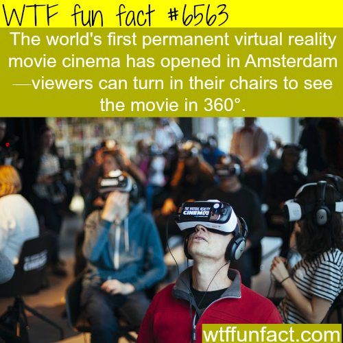 VR movie cinema - WTF fun facts