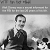 walt disney secretly worked for the fbi wtf fun