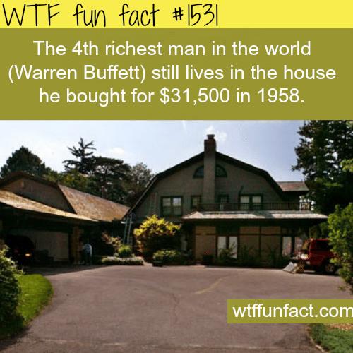 Some facts Warren Buffett.wtf fun facts
