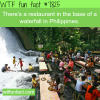 waterfall restaurants in the philippines wtf fun