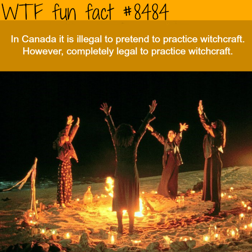 Weird Canadian Laws - WTF fun facts