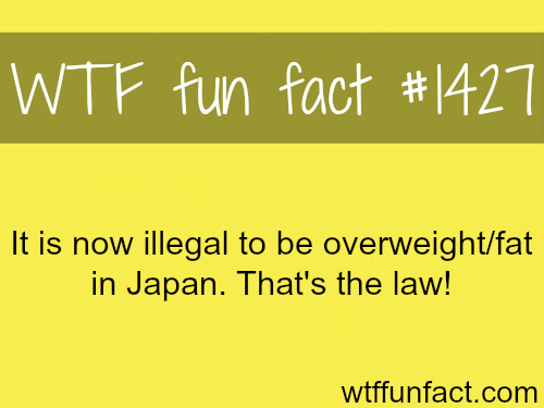 weird laws - japan