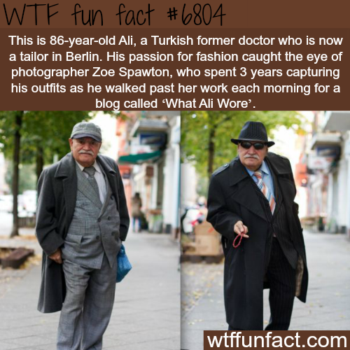 What Ali Wore - WTF fun fact