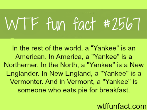"""What does the word """"Yankee"""" mean -WTF funfacts"""