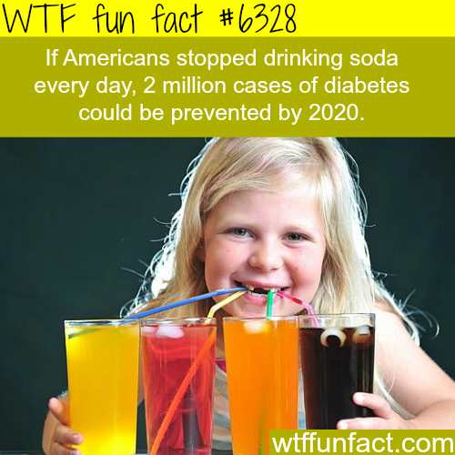 What if Americans stopped drinking Soda - WTF fun facts