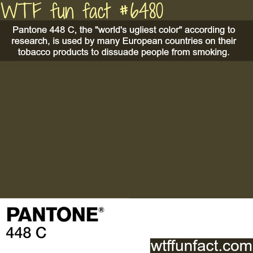 What is the ugliest color in the world? - WTF fun facts