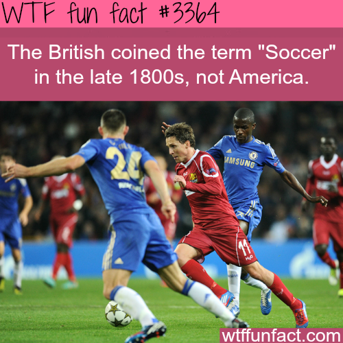 """Who created the word """"soccer"""" - WTF fun facts"""