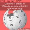 who edits wikipedia