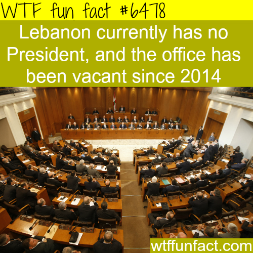Who is the president of Lebanon - WTF fun facts
