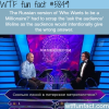 who wants to be a millionaire wtf fun facts