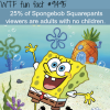 who watches spongebob squarepants wtf fun fact