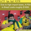 why are ps4 so expensive in brazil